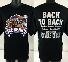 Knoxville Ice Bears Hockey T Shirt Mens XL SPHL Champions 2008-2009 NEW