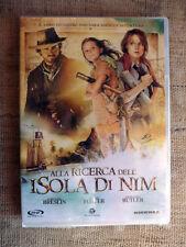 Alla ricerca dell'isola di Nim -Abigail Breslin,Jodie Foster e Gerard Butler-DVD
