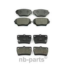 PASTIGLIE dei freni Kit di montaggio si adatta TOYOTA RAV-4 ACA2 2.0 POSTERIORE 00 a 05 1AZ-FE B/&B NUOVO