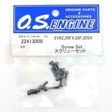 SCREW SET 21RZ,25FX,32F,32SX # OS22413009 **O.S. Engines Genuine Parts**