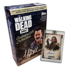 The Walking Dead Autograph Collection Trading Card Box Sealed - 1 Autograph