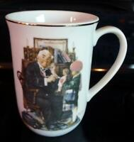 1929 The Doctor and the Doll Saturday Evening Post Coffee Mug Norman Rockwell