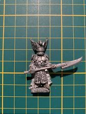 Warhammer Heroic Fighters of the Known World Lord Aquilla Metal Rare Used OOP