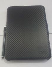 "LOVELY CARBON EFFECT JIVO FOLIO BUNDLE CASE FOR KINDLE FIRE HD 7"" - 2012 RRP £35"