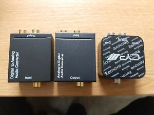 Dac Converter With 3.5mm Headphone Socket and audio Digital conection