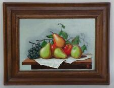 Fruit on Table Painting, hand made in Peru by R Furniture