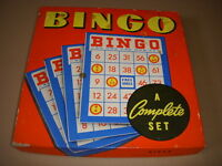 Vintage Bingo Game Set, Whitman Publishing #2974!
