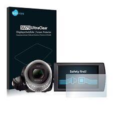 6x Film Protection écran pour Sony FDR-AX53 Protecteur