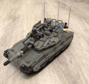Custom modern Israel mercava tank  brickmania LEGO part build