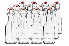 Chef's Star 12 Pack of 16 oz EASY CAP Beer Bottles CLEAR