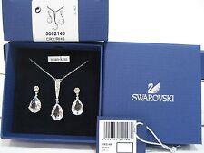 Swarovski Vintage Crystal Set, Necklace & Pierced Earrings Clear Crystal 5062148