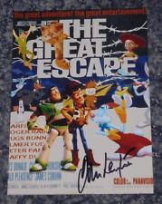 JOHN LEYTON-  THE GREAT ESCAPE - 5x7 PHOTO SIGNED-  Poster (4)