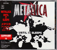METALLICA Until it sleeps CD SINGLE EP JAPAN NEW 1ST PRESS SRCS-8062 s5695