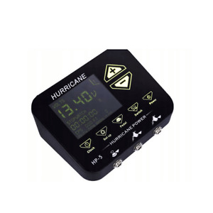 Hurricane - HP-5 Tattoo Power Supply - Deluxe Digital - High Quality