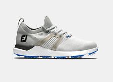 NEW Footjoy Men's HyperFlex Golf Shoes in Grey / White / Blue