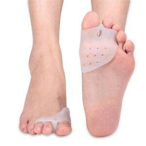 Pair Corrector Hallux Valgus Bunion Toe Splint Straightener Big Foot Support -UK