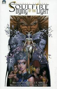 Soulfire Dying of the Light TPB #1-1ST FN 2007 Stock Image