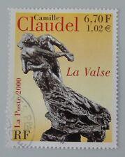 France année 2000 Yvert 3309 oblitéré cachet rond tableau camille claudel