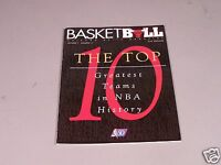 Chicago Bulls Basketbull Magazine Vol 7 Number 5  - Top 10 Greatest NBA Teams