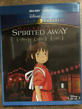 Spirited Away (Blu-ray/Dvd, 2015, 2-Disc Set) Sealed in Box