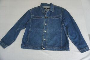 Marithe Francois Girbaud Herren Jeans Jacke Jeansjacke Gr.XXL stonewash blau TOP