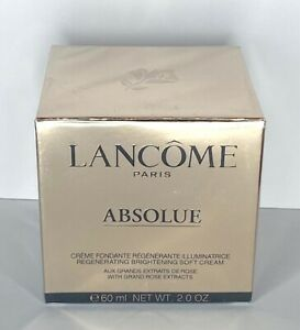 Lancome Absolue Revitalizing & Brightening Soft Cream Rose Extracts 2oz Sealed