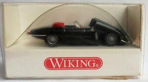 Wiking 817 0124 Jaguar E-Type 3,8 OTS schwarz OVP