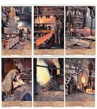 """Liebig Bilder Serie 1119 """"In einem Deutschen Stahlwerk"""""""