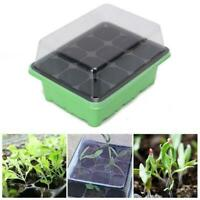 12 Cell Hole Seedling Starter Tray Nursery Seed Germination  Propagation