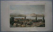 1836 print HOBART, TASMANIA, AUSTRALIA (#283)