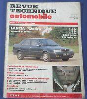 Revue technique automobile rta 535 Lancia dedra essence & diesel