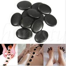 4/8/16pcs Massage Master Hot Stone Toe Spa Massage Kit Basalt Rock Asst Relaxing