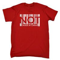 Funny Novelty T-Shirt Mens tee TShirt - Not Made In China