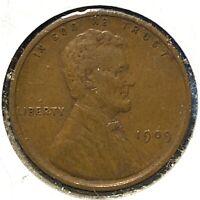1909 VDB 1C Lincoln Cent (60756)