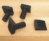 """Low Profile Plastic Bench Dogs 19mm (3/4"""") Pack of 4"""