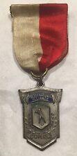 Vintage 1934 Polish National Alliance Baseball Medal Ribbon ZNP