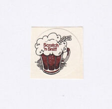 Vintage 3M Scratch and Sniff Rootbeer Sticker