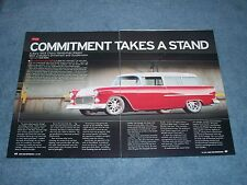 "1955 Chevy Handman Station Wagon RestoMod Article ""Commitment Takes a Stand"""