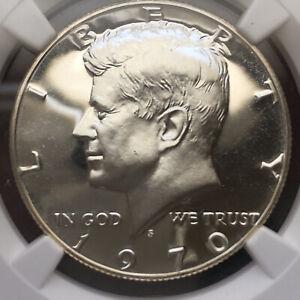 1970-S Kennedy 40% Silver Proof Half Dollar NGC PF 69 Cameo!! Ultra High Grade