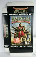Empires: Dawn Of The Modern World Jumbo Retail Display Box (Ver. 1)