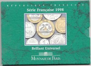 France Coffret BU 1998