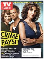 TV Guide December 8 2008 Melina Kanakaredes Carmine Giovinazzo Balthazar Getty