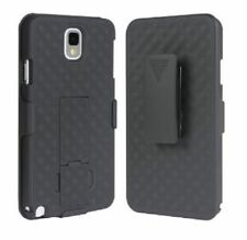 New Black Shell Holster Case Belt Clip Combo + Stand for Samsung Galaxy Note 3
