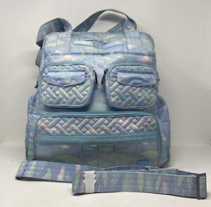 Lug Puddle Jumper Large Overnight Travel Bag Mystic Seaglass