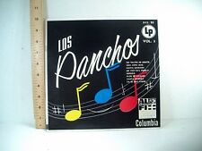 "TRIO LOS PANCHOS Vol. 3- Very Rare Columbia DCL-35 / 10""  1950'S"