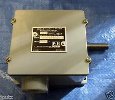 P&H Rotary Limit Switch Single Pole Double Throw 36:1 479Q35D2 Pilot Duty Rating