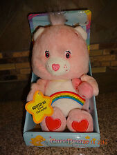 Plush Cheer Care Bear Baby New in Box NRFB Bear not working