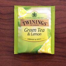 10 x Twinings Tea Bags - Green Tea & Lemon  NEW