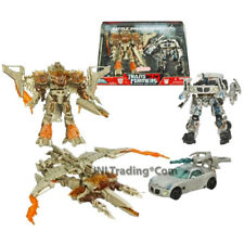 Year 2008 Transformers 1st Movie SCREEN BATTLES Set BATTLE OVER MISSION CITY