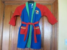 Ladybird Age 4-5 Bob The Builder Cosy Fleece Dressing Gown in Good Condition